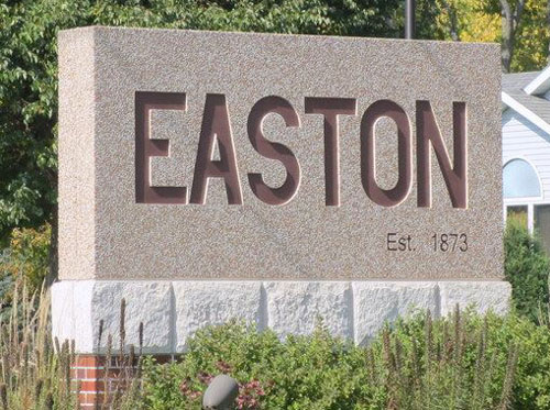 City of Easton Sign